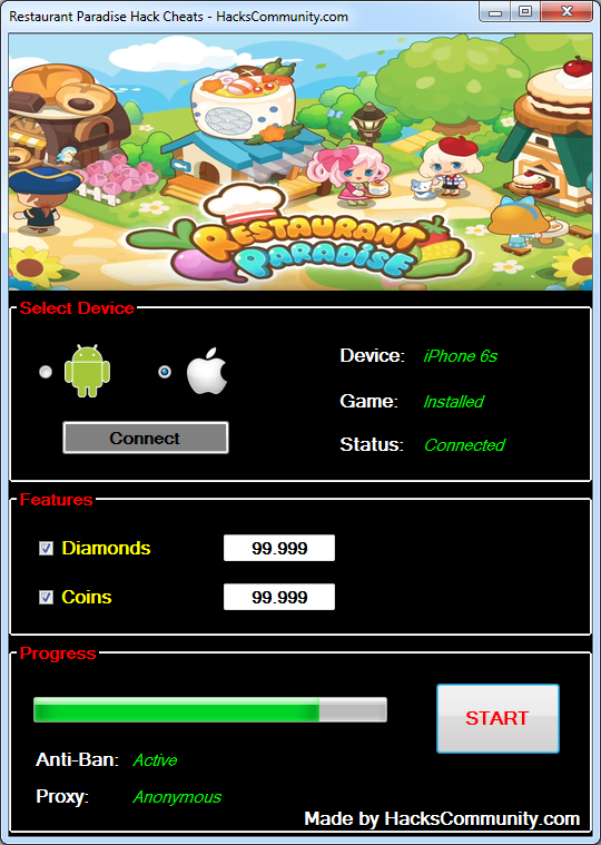 crack game paradise beach 2 cheats