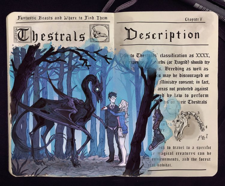 Fantastic Beasts: Thestral