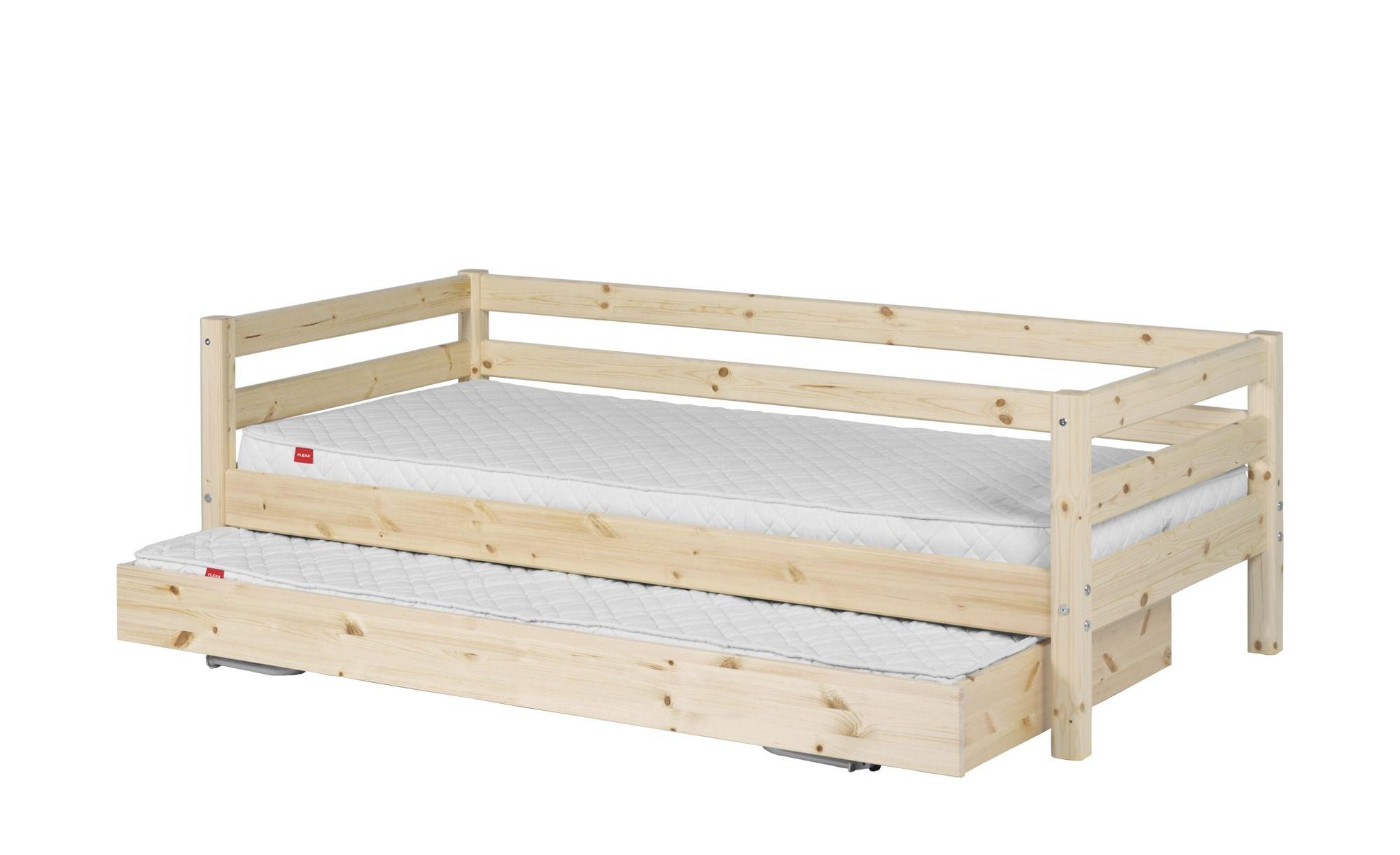 Flexa Bett Mit Ausziehbett 90x190 Kiefer Flexa Classic Betten