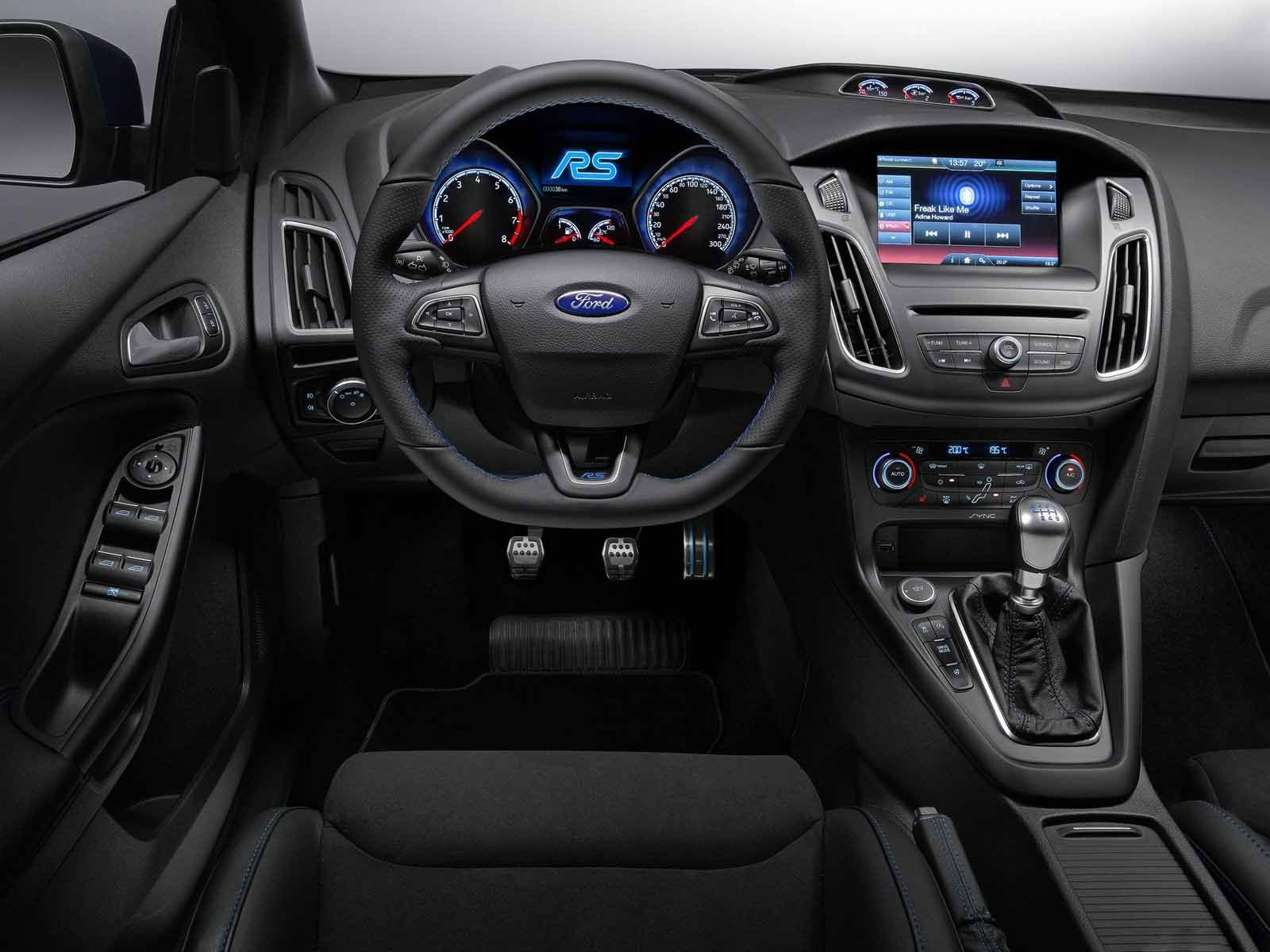 Ford Focus Rs 2016 Ford Focus Rs Interior Ford Focus Rs 2016