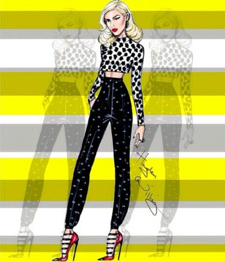 The one and only <3 Gwen Stefani by Hayden Williams