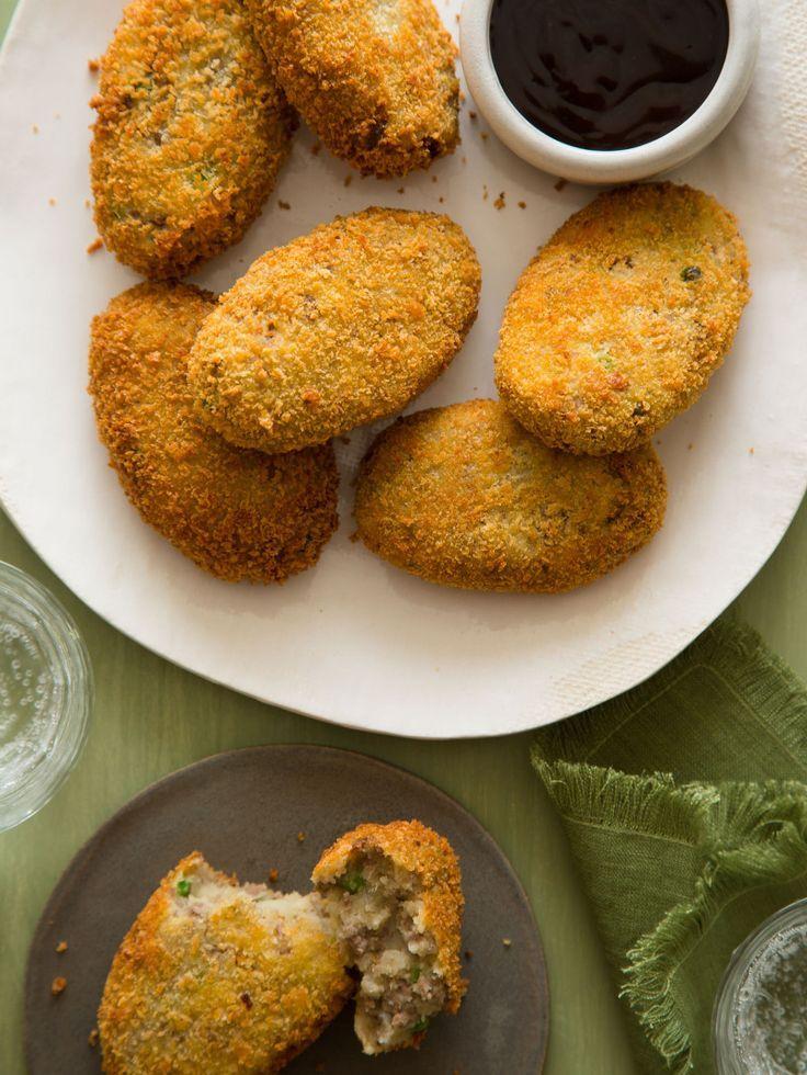 Korokke Japanese Meat And Potato Croquettes Receita Receitas Gastronomia Culinaria