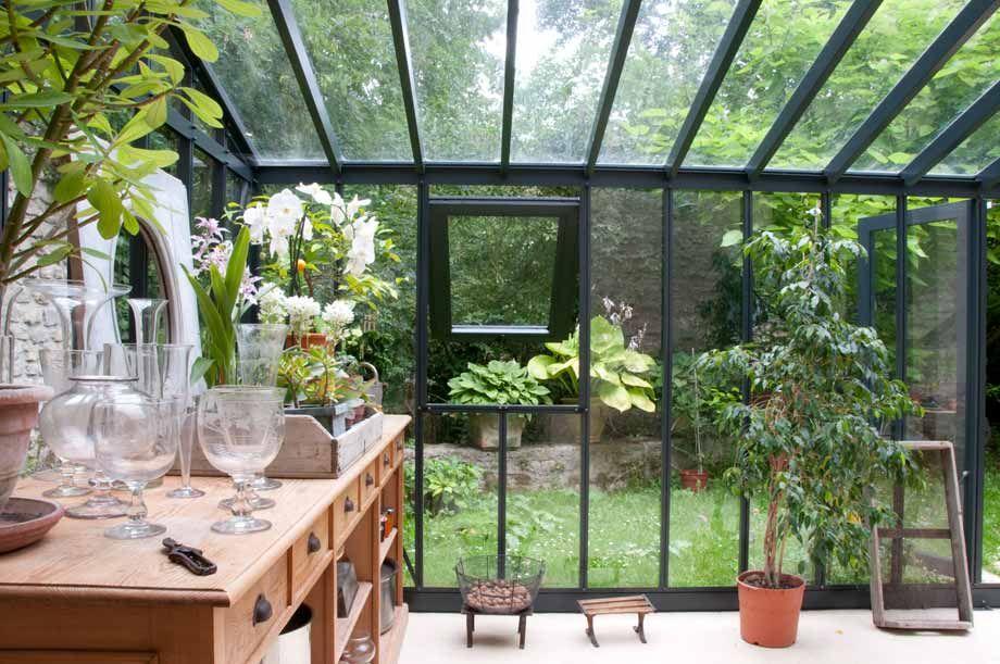 Une serre comme un jardin d 39 hiver jardin d 39 hiver Verriere jardin
