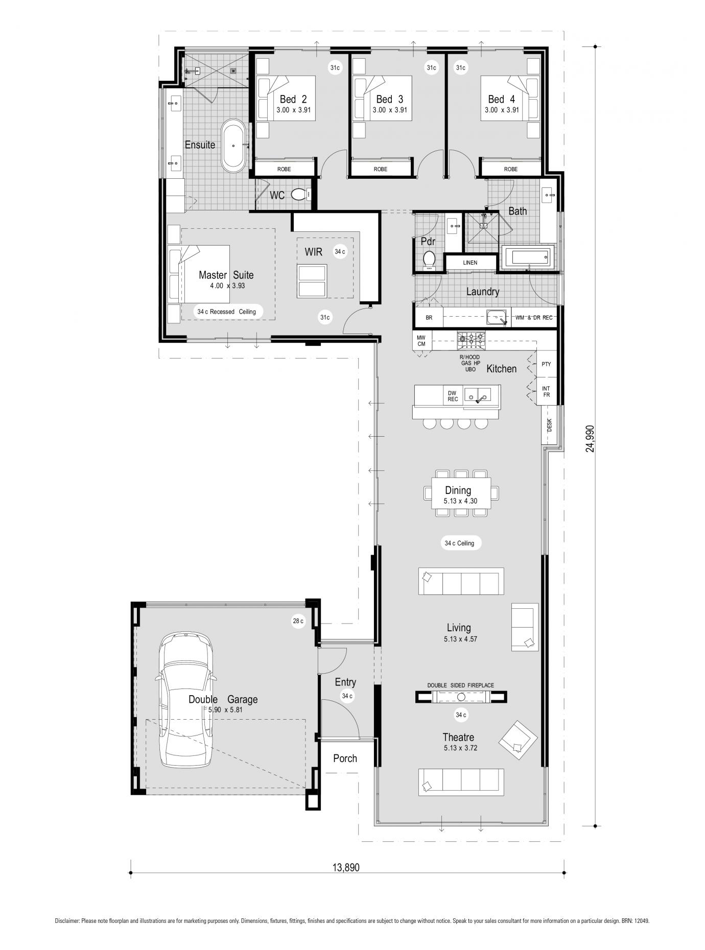 34+ Elara 4 bedroom floor plan ppdb 2021