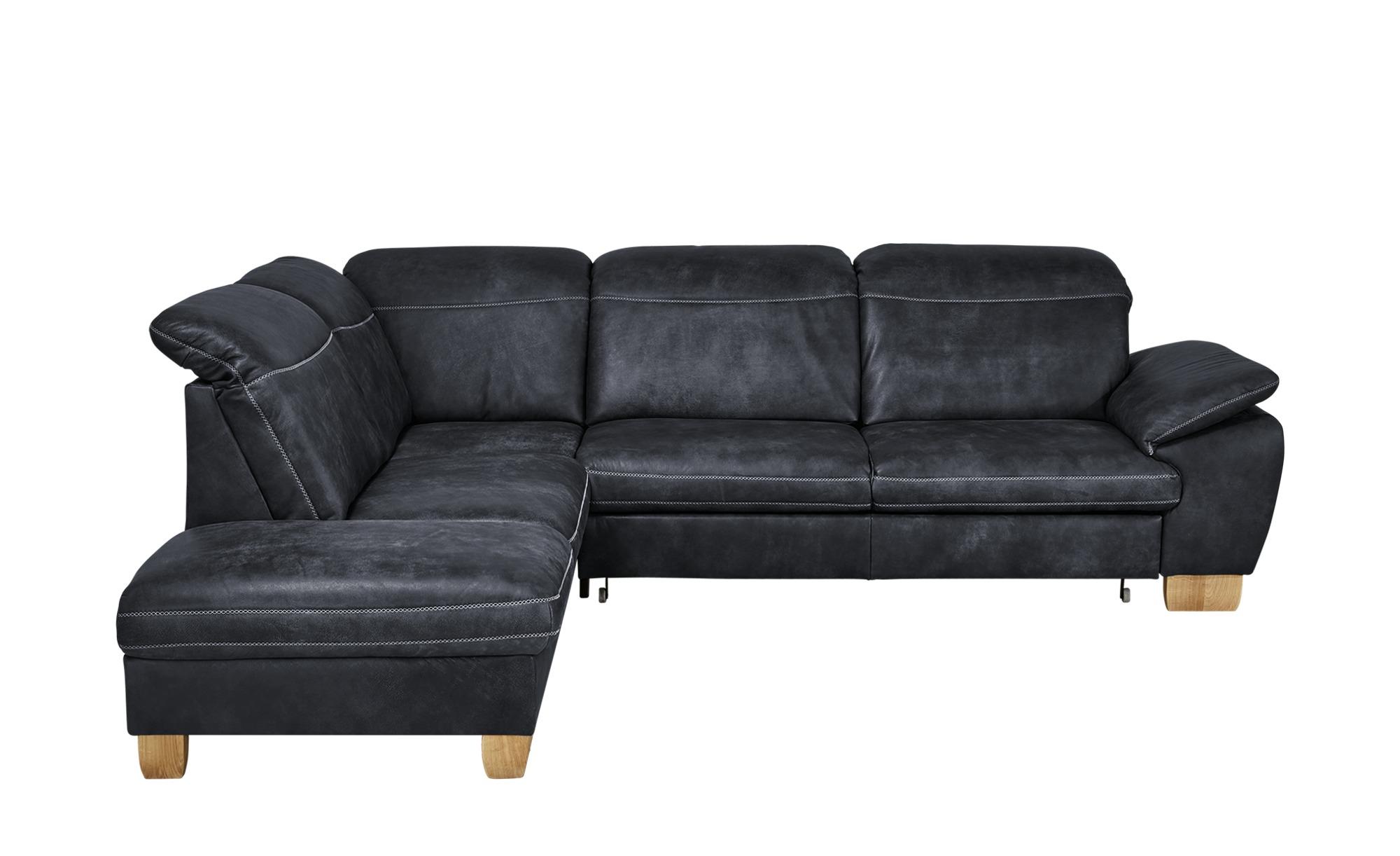 Meinsofa Leder Ecksofa Dunkelblau Leder Raica In 2020 Sofa Ecksofa Big Sofa Kaufen