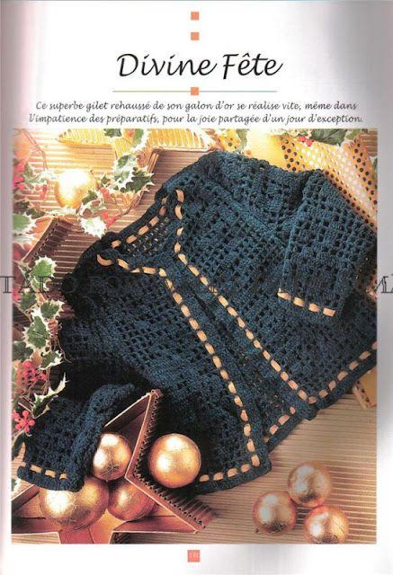 Casaco Bebê em crochê – Feitos a Mão