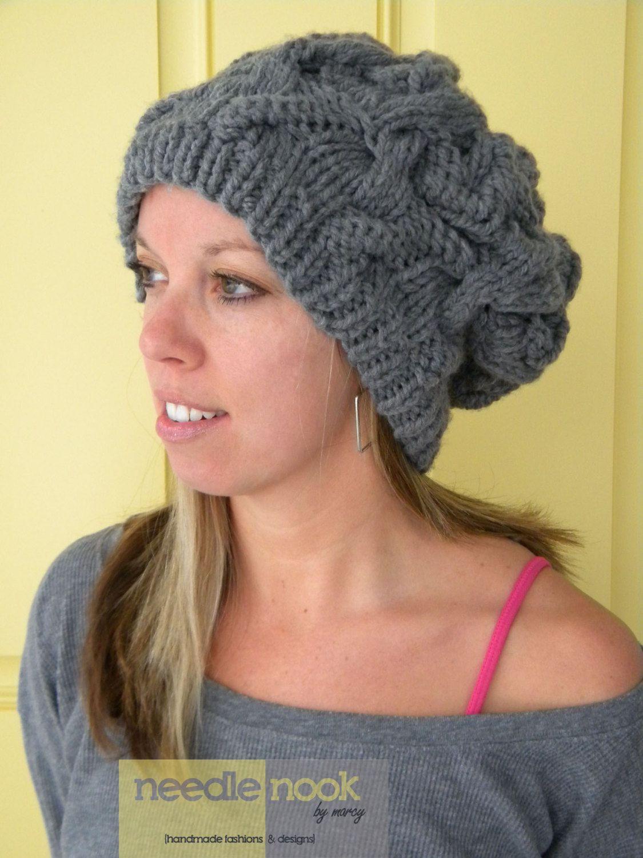 free slouchy hat knitting pattern   ... batelic sandee batelic ...