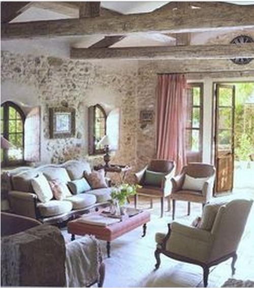 SALOTTO TORTORA IN STILE PROVENZALE - Arredamento Shabby | Cottage ...