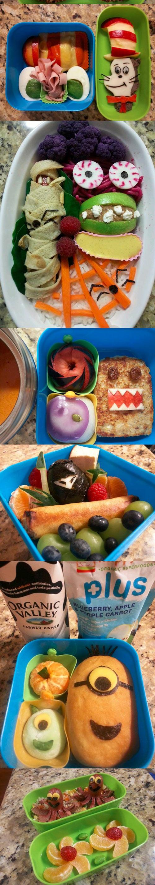 Pra inspirar as refeições dos pequenos. =)