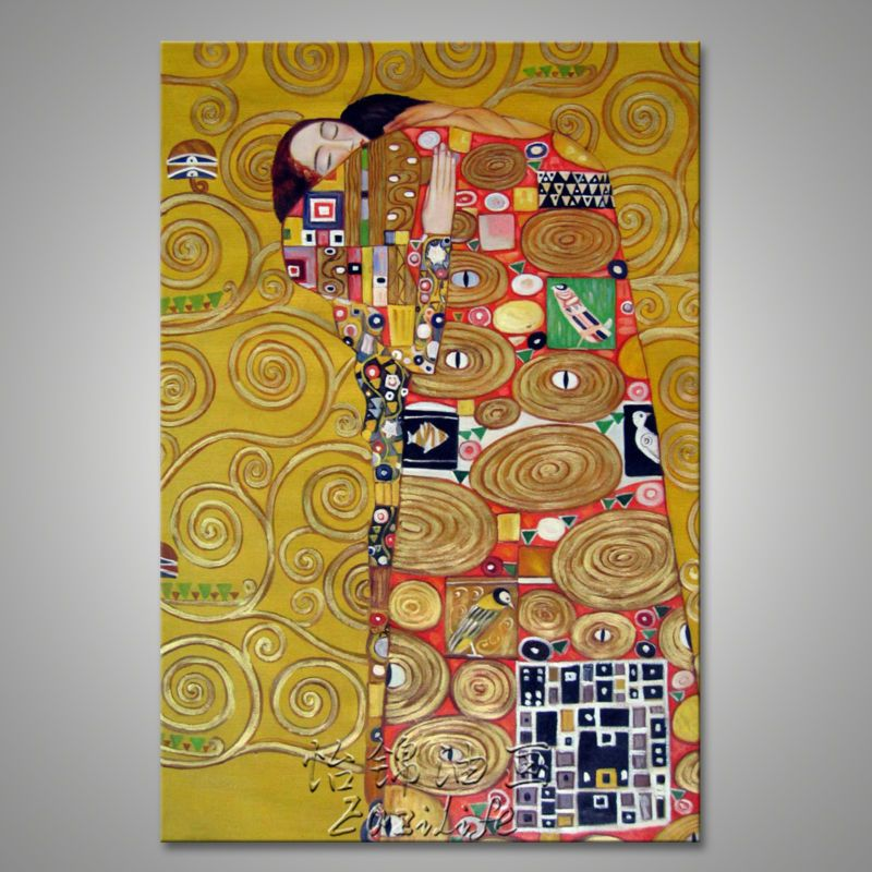 Fresh arriving Gustav Klimt Oil painting on Canvas Hand painted The ...