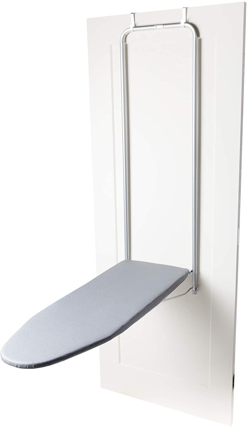 Tivit Over The Door Ironing Board Easton 12 5 X 44 Hanging Easy Instal Iron Boards Metal Mesh To In 2020 Metal Mesh Door Ironing Board Iron Board