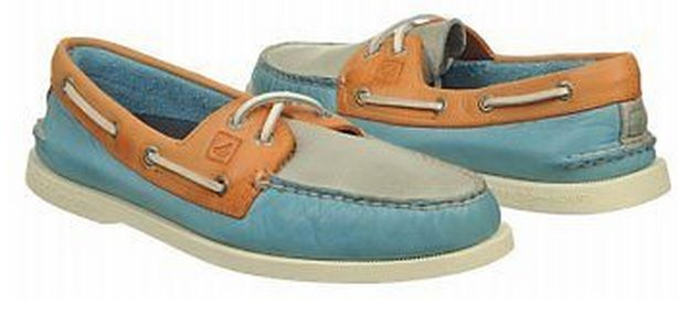 Burnished pastel Sperry