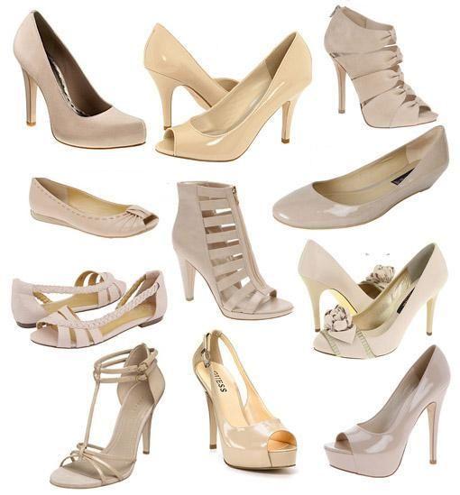 Qué zapatos usar con un vestido blanco | Zapatos para vestido ...