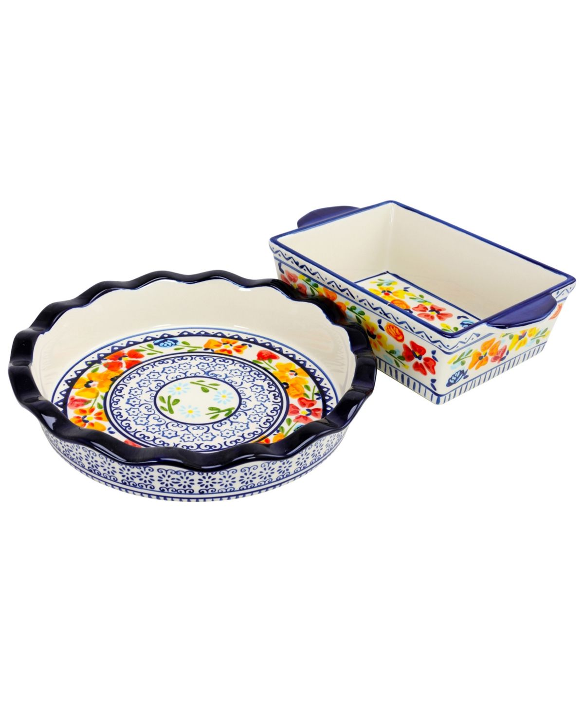Luxembourg 10 5 Pie Dish And 10 Bakeware Set In Stoneware