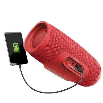 Jbl Charge 4 Bluetooth Wireless Speaker Red Wireless Speakers Bluetooth Bluetooth Speaker Bluetooth Speakers Portable