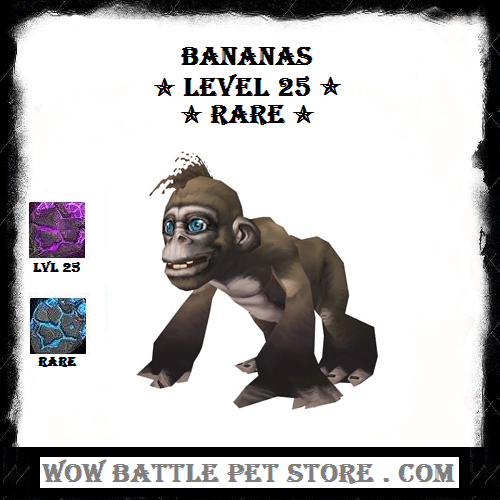 Bananas Lvl 25 Wow Battle Warcraft Pets Pet Store