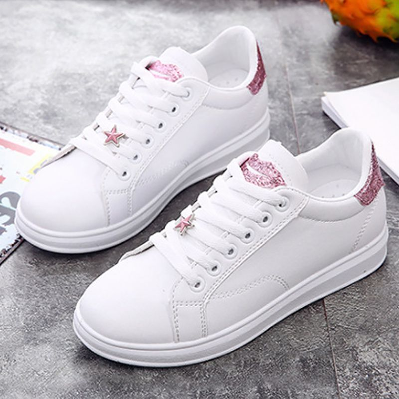 Sneakers women platform shoes 2018 elegant ladies shoes sewing solid leather  shoes chaussure femme size 35-40. Yesterday s price  US  14.05 (11.62 EUR). f467782fc898