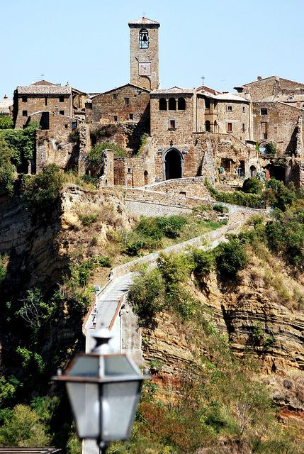 Civita di Bagnoregio Viterbo Lazio Italy Italia