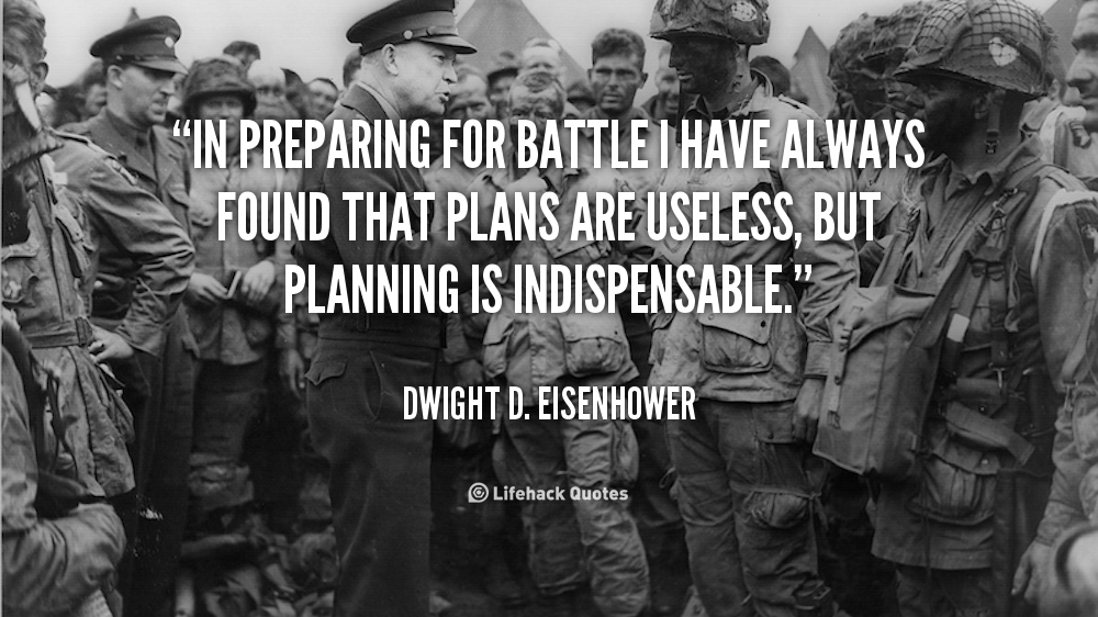 Image result for eisenhower planning quote