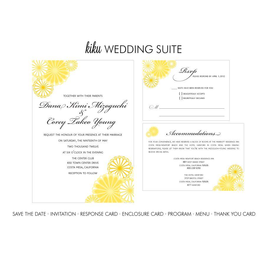 Printable wedding response card kiku thumbnail 1 wedding printable wedding response card kiku thumbnail 1 stopboris Images