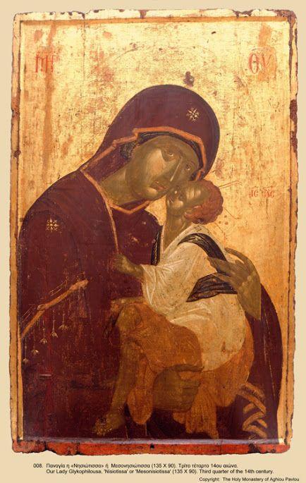 Иконы Афон монастыря св. Павла