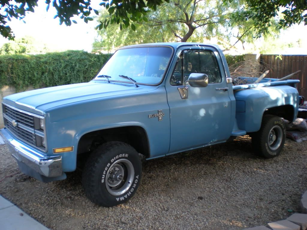 Uncle Chas had a blue #chevy stepside just like this one and it ...