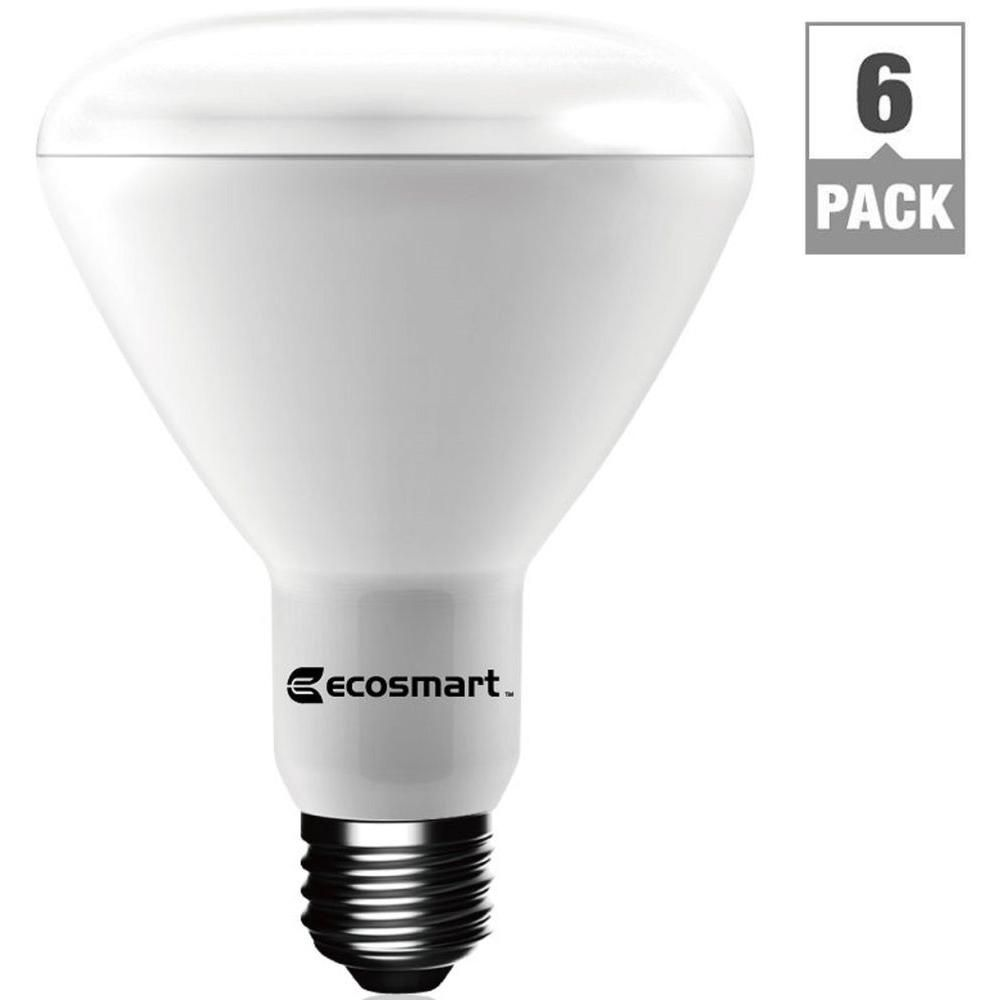 65w Equivalent Bright White Br30 Dimmable Led Light Bulb 6