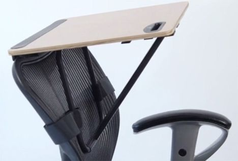 The Storkstand Is Est Smallest And Most No Nonsense Standing Desk Mounts To Back Of Any Office Chair But Does It Require A High