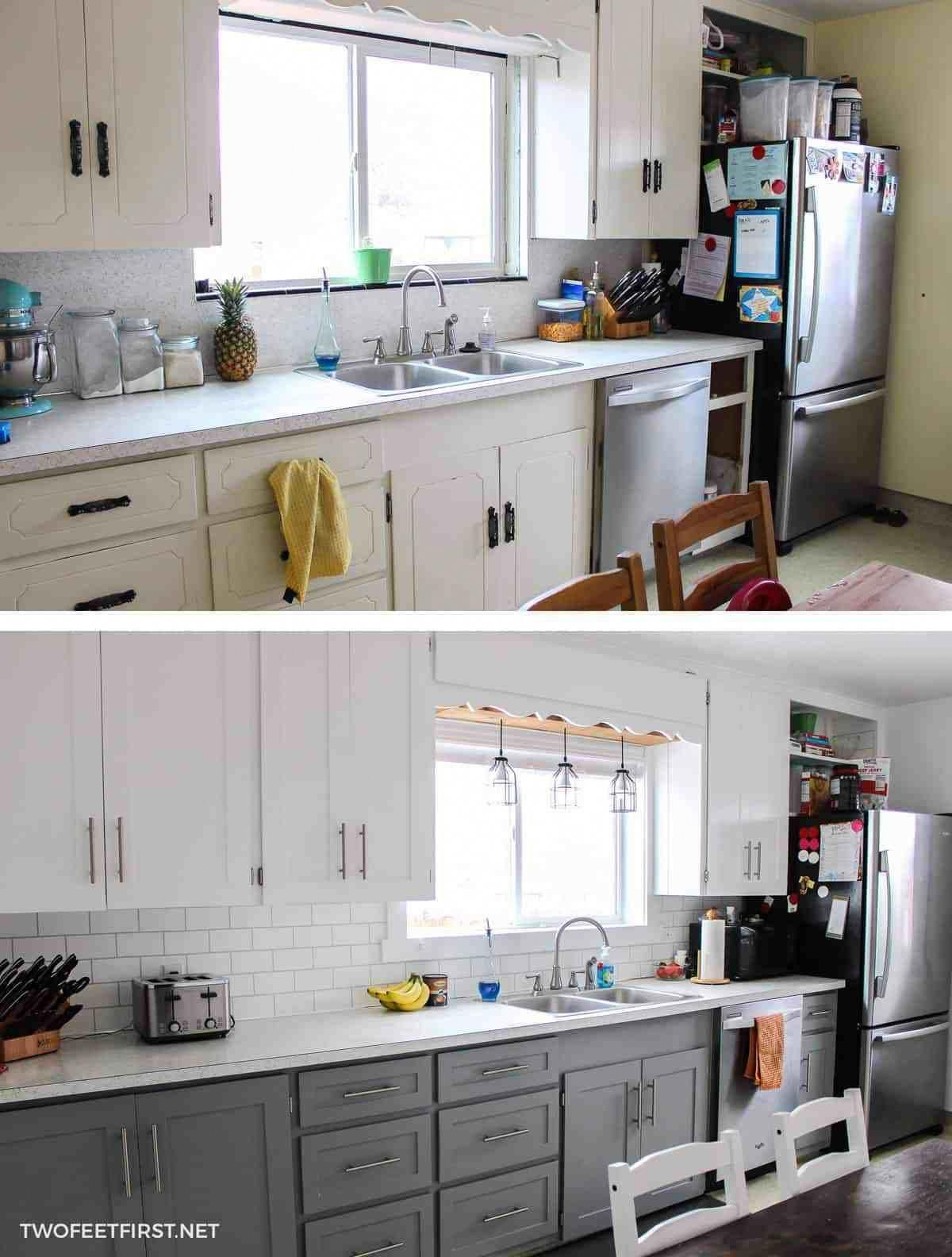 3 panel kitchen window  want to update kitchen cabinet without replacing them learn how to