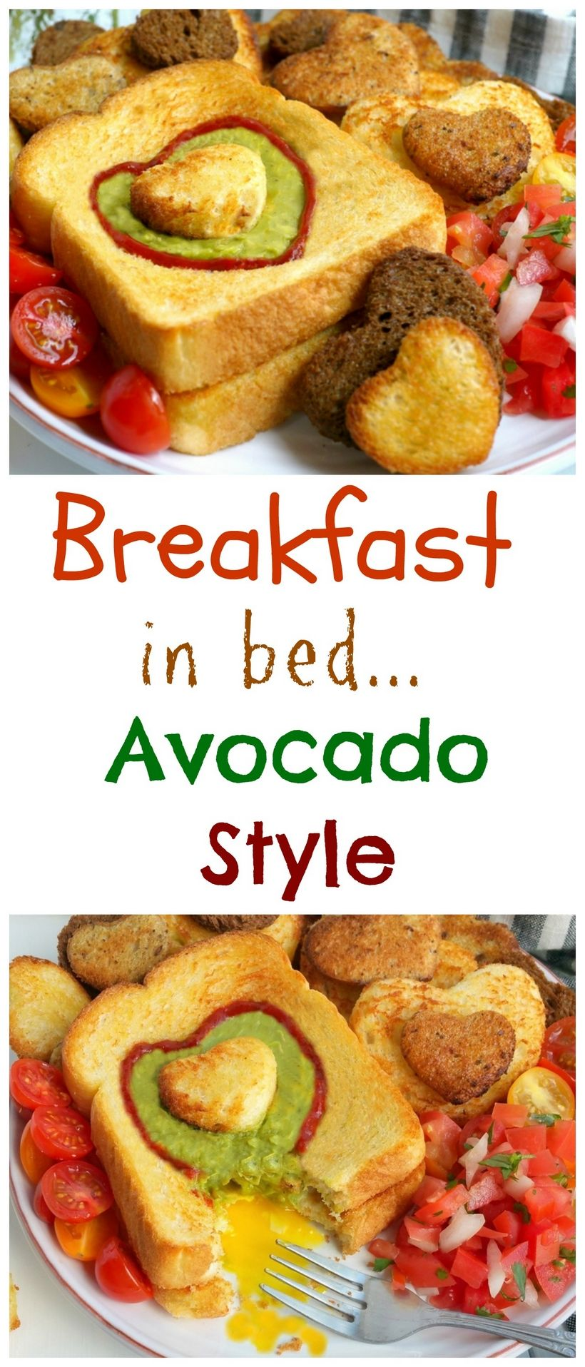 Breakfast in Bed, Avocado Style Let Mom sleep in and then wake up to a delicious, restaurant-qualit
