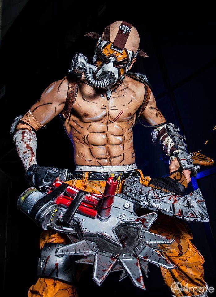 Krieg Borderlands 2 Amazing Cosplay | inspiring cosplay