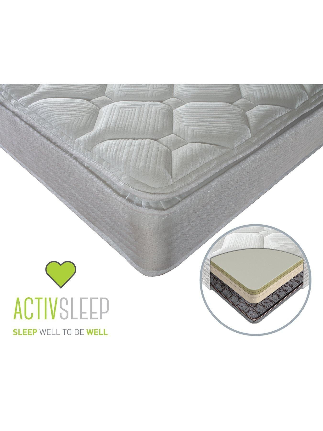 Sealy Activ Renew Ortho Posture Pillow Top Mattress Medium Firm