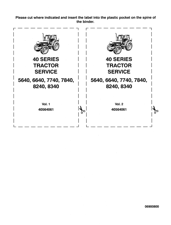 Ford 5640 6640 7740 Tractor Service Manual Tractors New Holland Tractor Ford News
