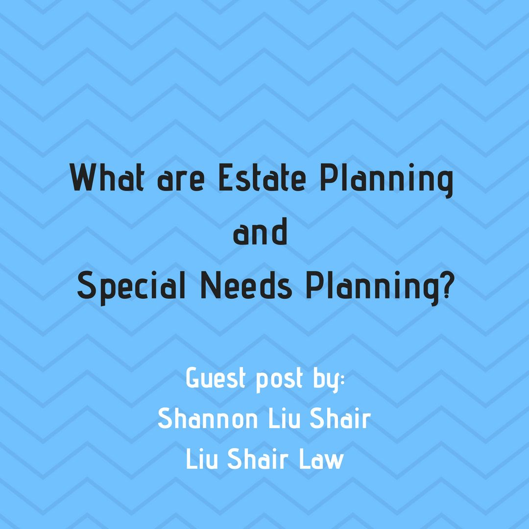 Estate Planning For Special Needs >> What Are Estate Planning And Special Needs Planning
