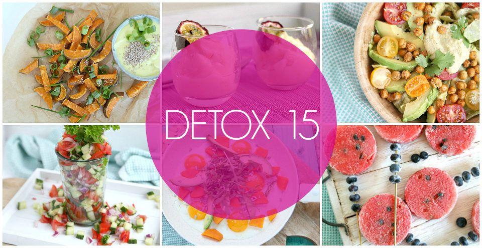 recepten en inspiratie voor detox 15   bye bye cheeseburger