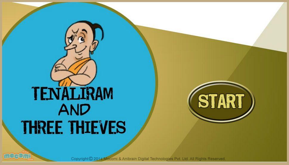 Tenali Raman And Two Thieves - Tenali Raman Stories | Tenali Raman