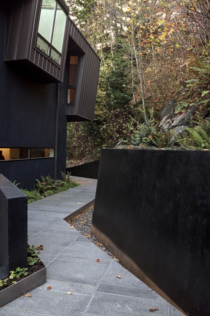 Hoke Residence My Dream Of A House In The Forest Forest House Twilight House Architecture