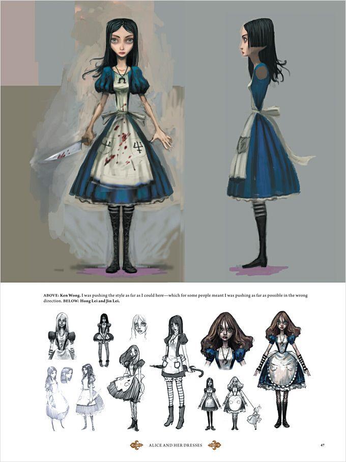 The Art Of Alice Madness Returns Ideias Para Desenho Alice E