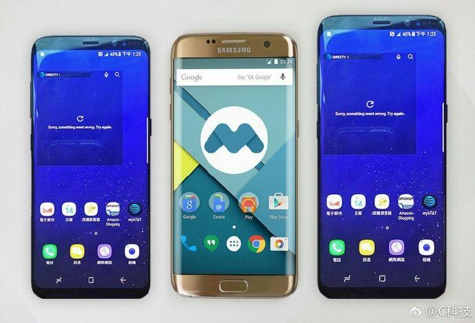 Samsung Galaxy S8 And S8 Plus Size Comparison With Galaxy Note 7 And Galaxy S7 Edge Galaxy S8 Galaxy Note 7 Samsung