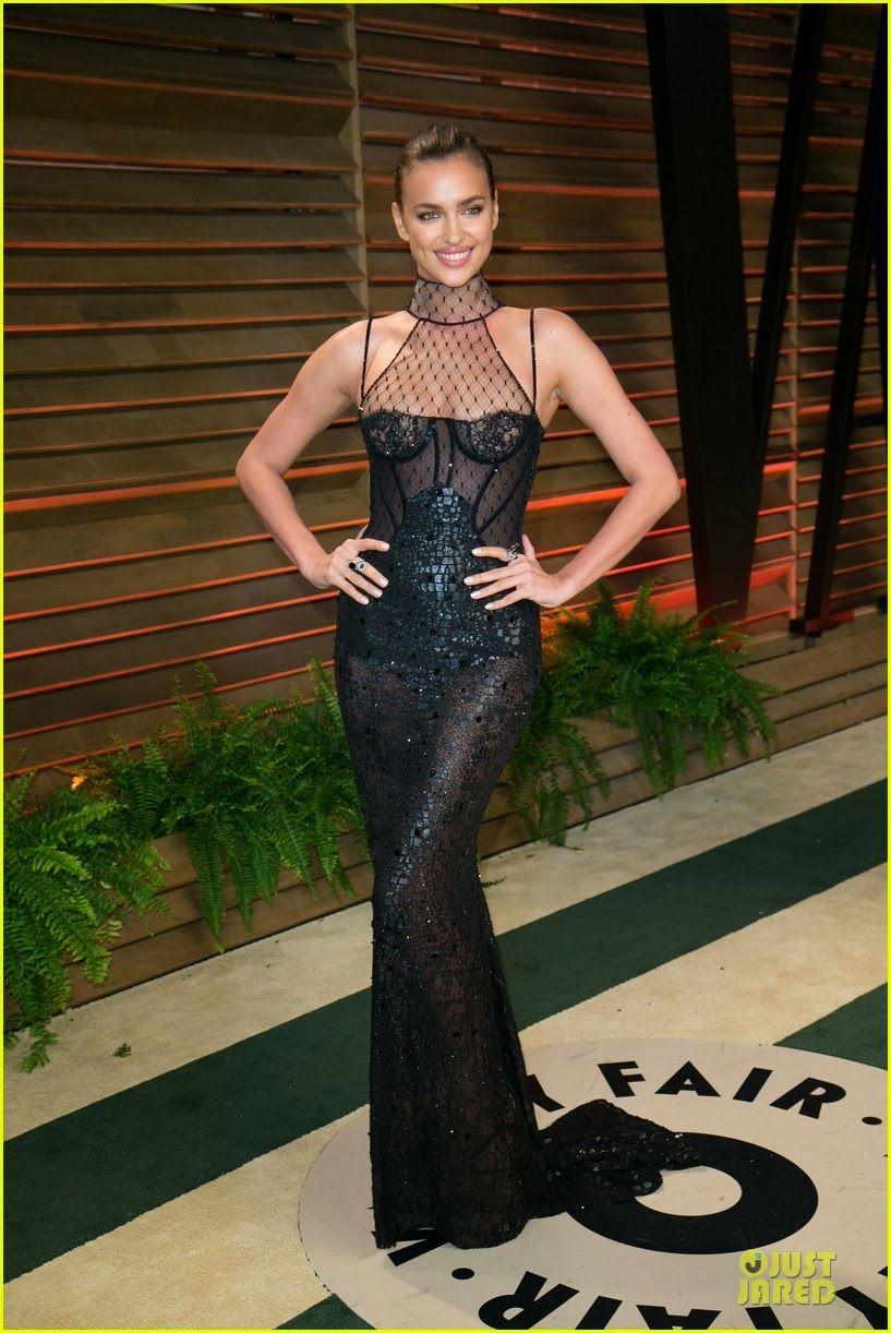 Irina Shayk at the 2014 Vanity Fair Oscar Party