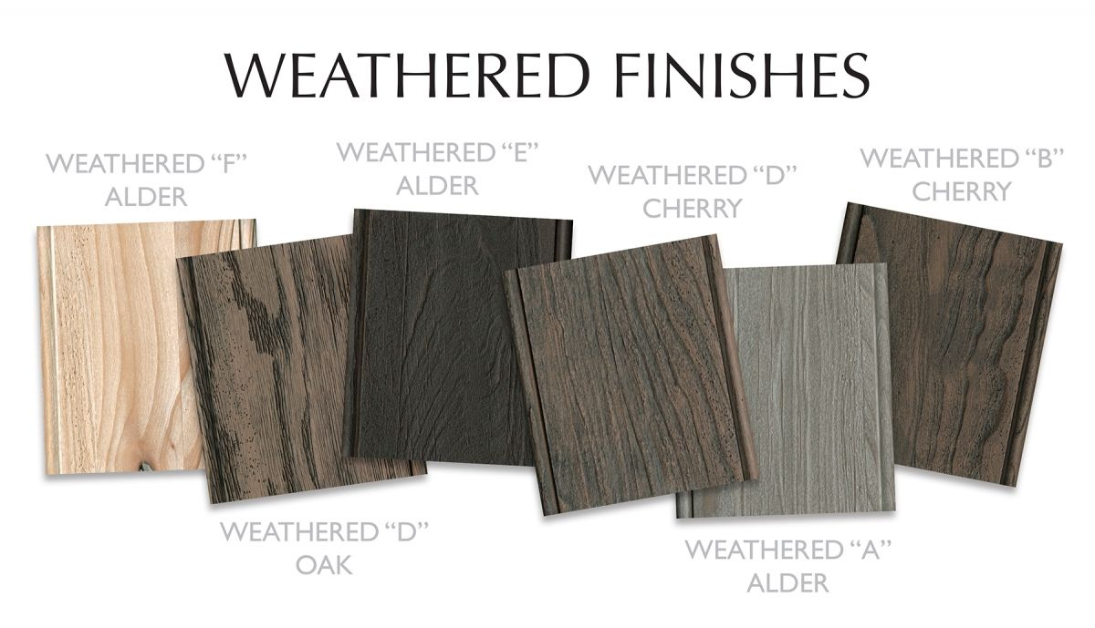 Dramatic New Finishes From Dura Supreme Driftwood Kitchen Kitchen And Bath Design Oak Kitchen Cabinets