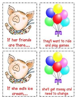 Cause Effect Lesson And Literacy Center With If You Give A Pig A
