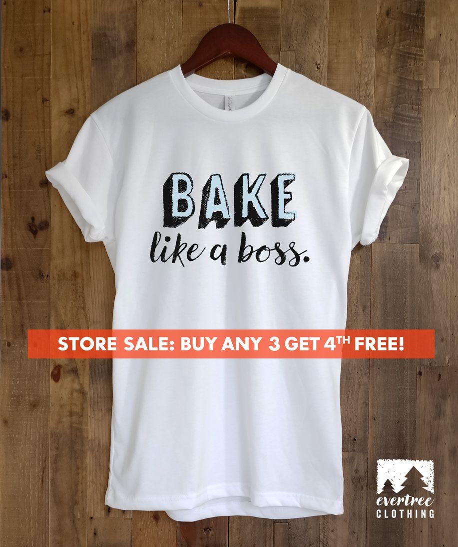 b8e8c5d6f13 Bake Like A Boss T-shirt