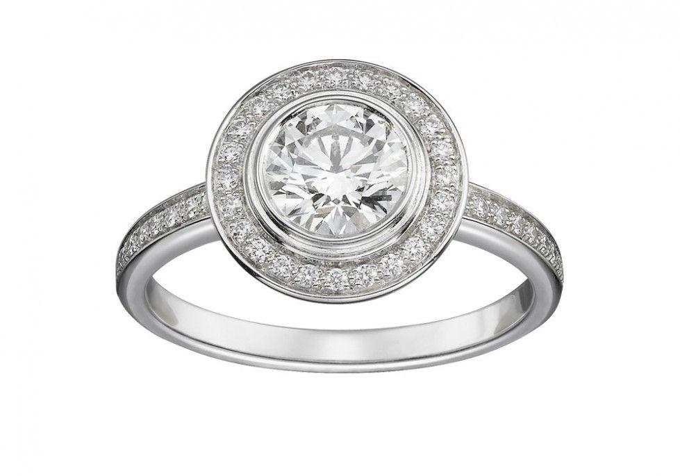 Anelli Di Fidanzamento Cartier Solitario Cartier D Amour Con Pave Di Diamanti Anelli Di Fidanzamento Cartier Anelli Di Fidanzamento Anelli Di Moda