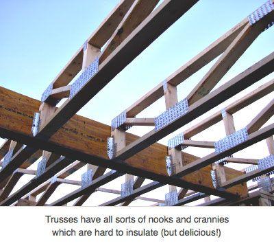 Open Web Roof Trusses