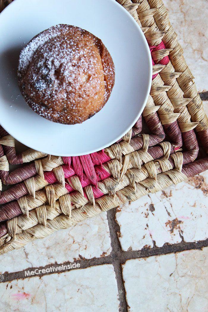 come fare muffin al cioccolato ricetta ME creativeinside dolci