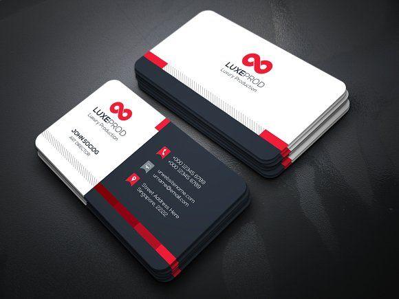 Business card by creative idea on graphicsauthor templates business card templates features of business card template paper size with bleeds 04 color versions 300 by create art colourmoves
