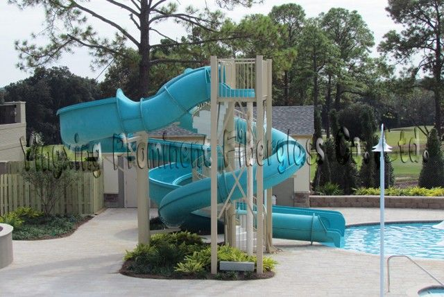 Swimming Pool Slides Product Private Swimming Pool