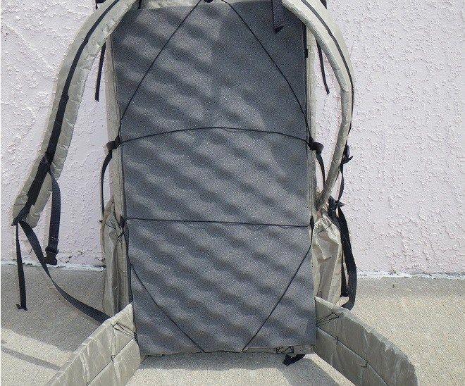 Sleeping Pad Pack Frame Ultralight backpacking, Hiking