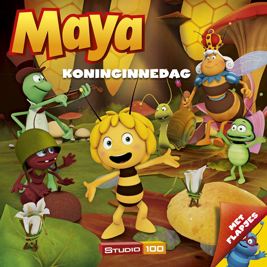 Creation of 3D scenes and Poses for a Studio 100 Maya Book (© & ™ Studio100)